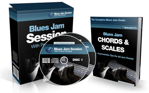 blues jam tracks